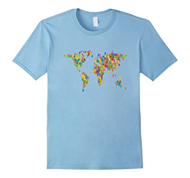 Amazon kids letters world map t shirt boys girls atlas global mens kids letters world map t shirt boys girls atlas global tee 2xl baby blue gumiabroncs Gallery