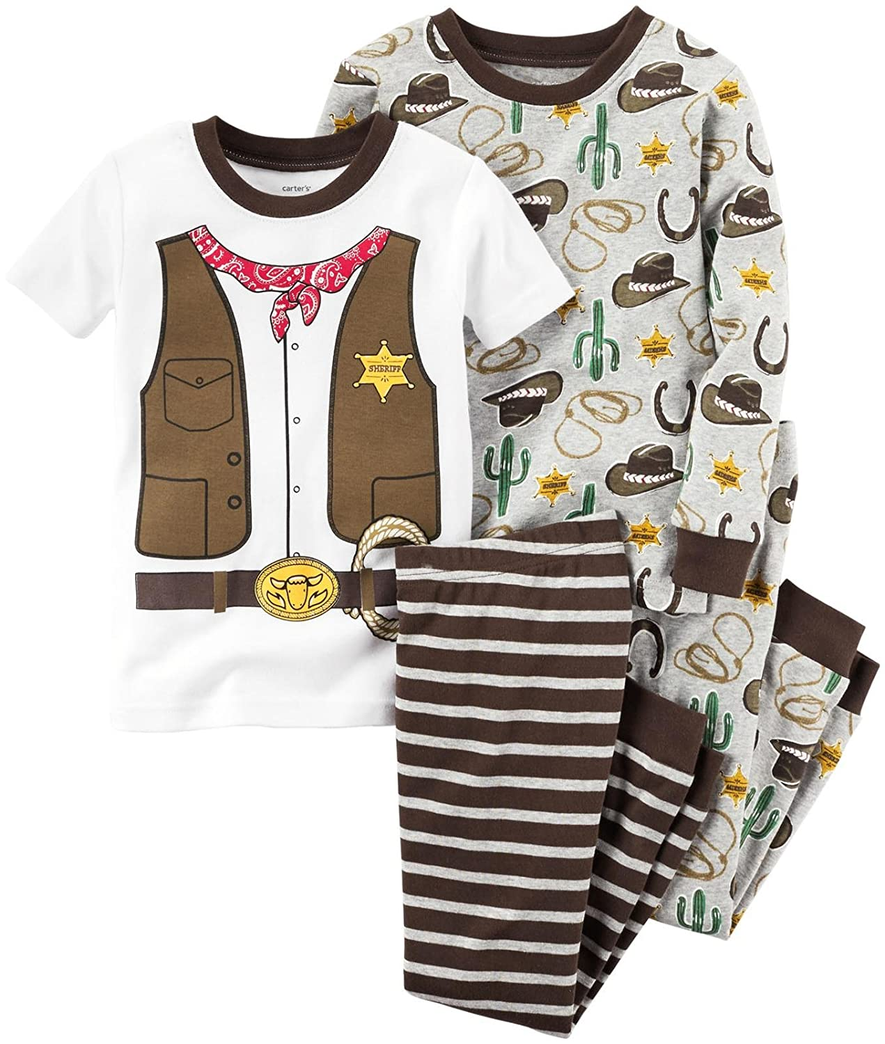 Carters Baby Boys 4 Pc Cotton 321g180