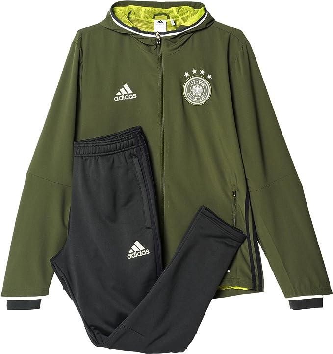 adidas DFB Pre Suit - Chándal para Hombre: Amazon.es: Ropa y ...