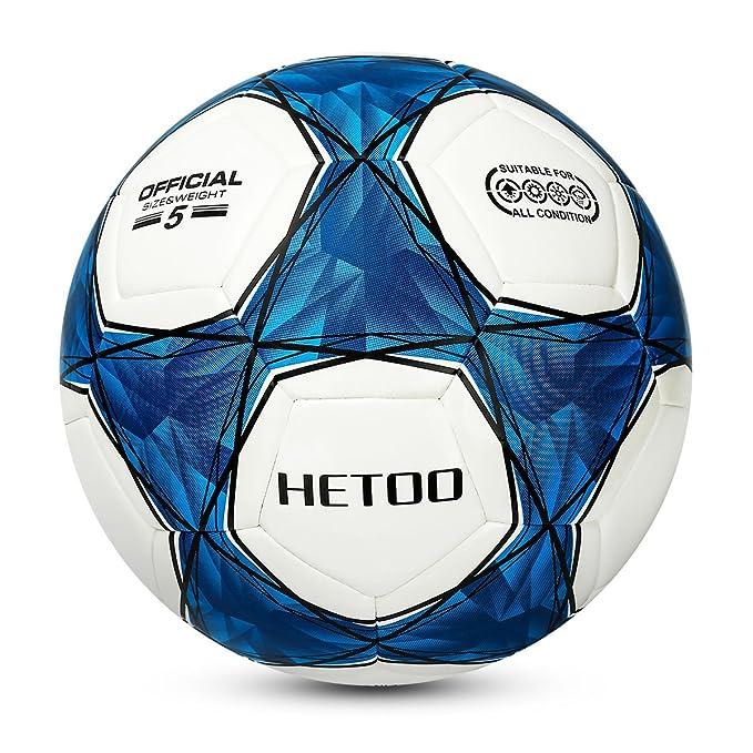 8 opinioni per Hetoo Calcio Impermeabile,Miglior Pallone Da Allenamento E Partita Per Adulti E