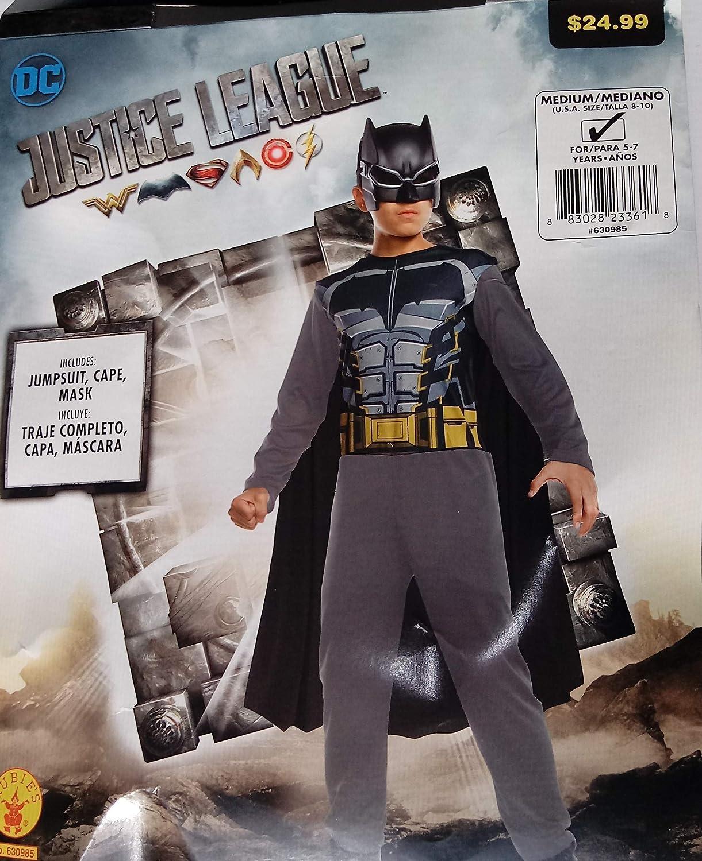 Amazon.com: DC Justice League Batman Costume, Hard Mask ...