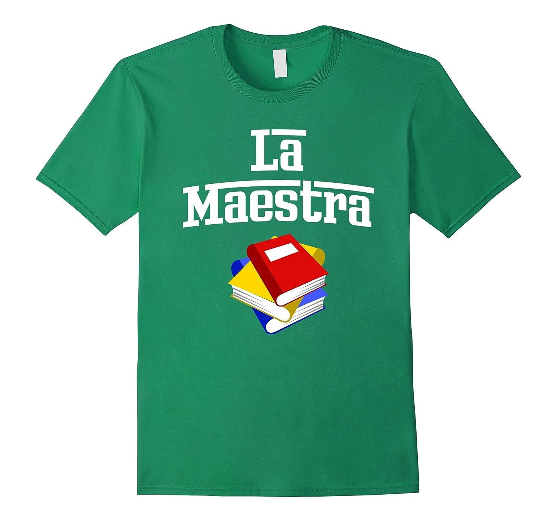 La Maestra spanish the teacher female - gift for teachers-RT