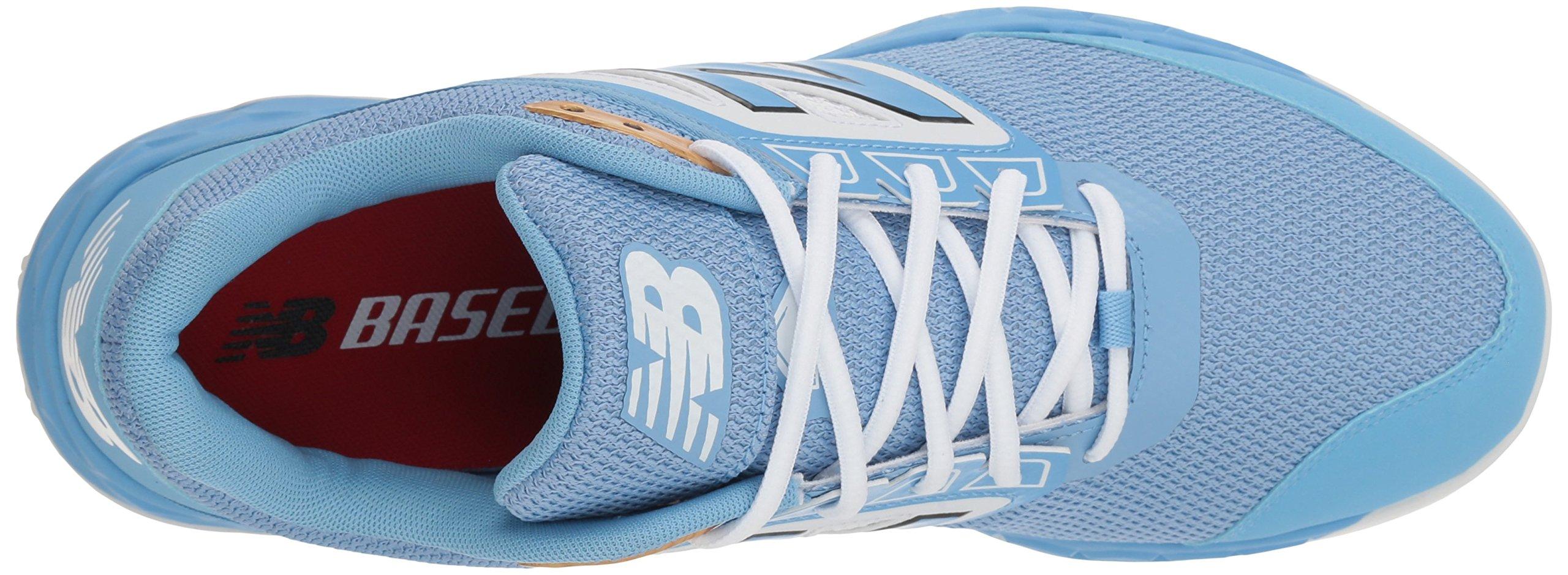 New Balance Men's 3000v4 Turf Baseball Shoe, Light Blue, 5 D US by New Balance (Image #7)