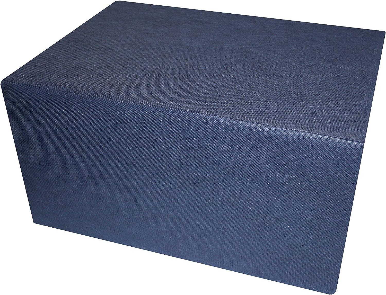 IWH Bandscheibenwürfel Stufenlagerungswürfel 55 x 40 x 30 cm Aloe Vera weiß