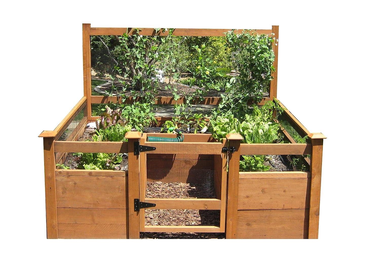 Sólo tiene que añadir Lumber - Kit de jardín verduras 8 x8 ...