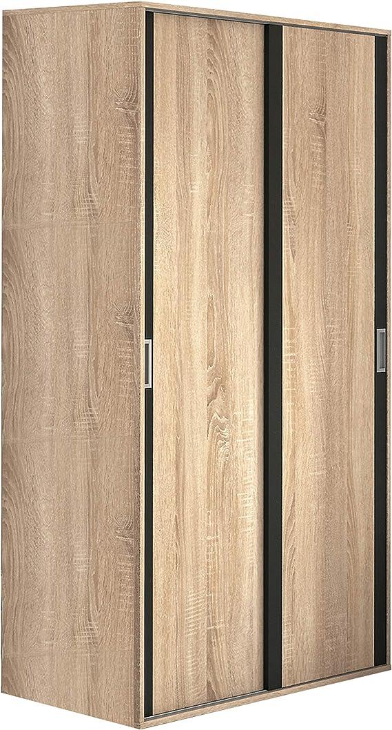 HomeSouth - Armario Dos Puertas correderas Dormitorio habitación ...