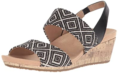7482baf518f6 LifeStride Women s Marcela Wedge Sandal