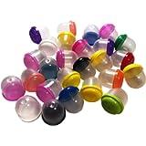 50 - 1' Empty Acorn Vending Machine Capsule Bubbles