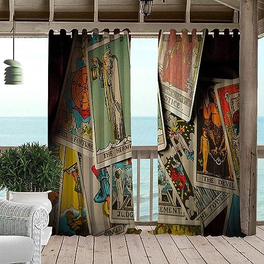 Cortina de jardín Impermeable con diseño de Caballito de mar y Rosas náuticas y Elegante bajo el Agua, Turquesa, Verde Azulado, Color Rosa Claro: Amazon.es: Jardín