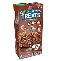 Kellogg's Cocoa Krispies Treats, Crispy Marshmallow Squares, Chocolate, Single Serve...