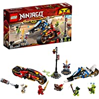 Lego - Ninjago Klasik Kai'Nin Kılıç Motosikleti ve Zane'In Kar Motosikleti (70667)