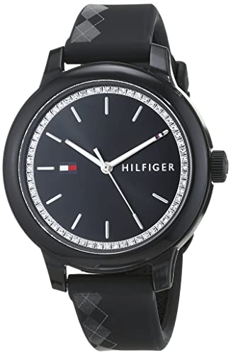 f8642b5a4 Tommy Hilfiger Womens Analogue Classic Quartz Watch with Silicone Strap  1781815: Amazon.co.uk: Watches