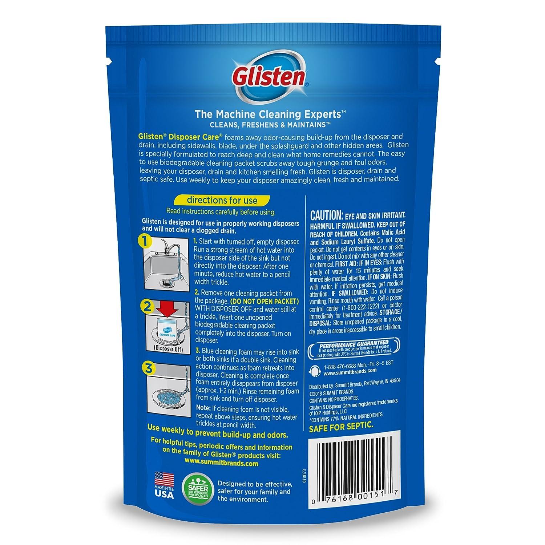 Amazon.com: Disposer Care Garbage Disposer Cleaner, Lemon, 4 ct-2 pk ...