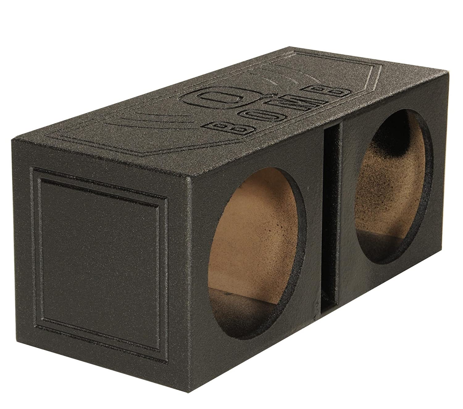 Amazon q power qbomb15v dual 15 inch vented speaker box from amazon q power qbomb15v dual 15 inch vented speaker box from high grade mdf wood with durable bed liner spray car electronics sciox Images