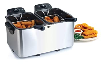 Elite Platinum EDF-4080 Maxi-Matic 8 Quart Deep Fryer, Stainless Steel high-quality