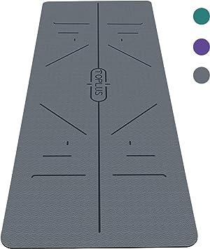 Amazon.com: TOPLUS - Esterilla de yoga clásica de 1/4 ...