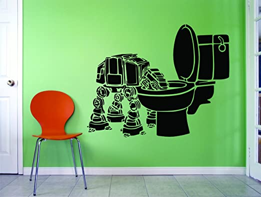 Amazon Com Star Wars Wall Decals Solo Vinyl Art For Walls George Lucas Space Science Fiction Removable Wall Designs Kids Bedroom Rooms Luke Skywalker Han Solo Darth Vader Toilet Size 20x20 Inch Home Kitchen