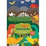 Wild & Wolf Dinosaurs Sticker Activity Set Pop-Out playset