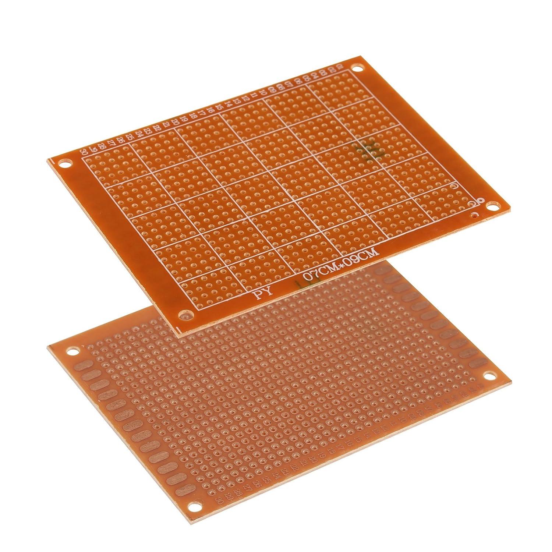 GWHOLE 17 Valores 1/% Resistencia Kit Surtido Pack de 525 0 Ohm-1M Ohm 7x9 PCB Circuito Junta Metal Film Resistor