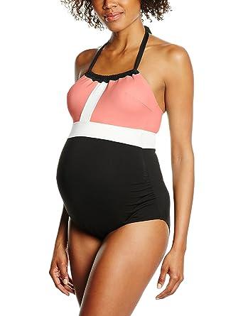 4dc778e98d78a Cache Coeur Women's Maternity Swimsuit California Medium mango at ...