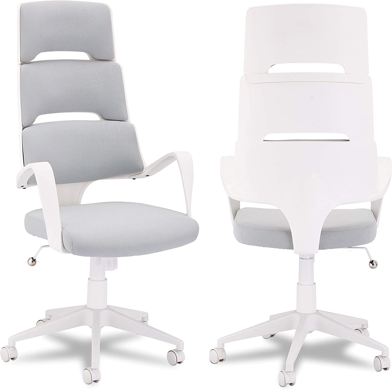 Furnhouse Chaise de Bureau, Blanc, 62x63x128
