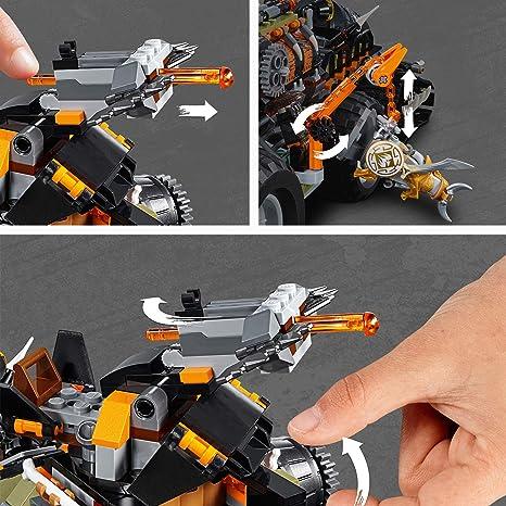 LEGO Ninjago - Dieselnauta, Juguete de Construcción de Aventuras Ninja, Incluye Vehículo y MiniFiguras (70654)