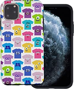 iPhone 11 Pro Case Monsters University inc Layered Hybrid [TPU + PC] Bumper Cover for [ iPhone 11 Pro (5.8inch) ] Case - Pattern Shirts