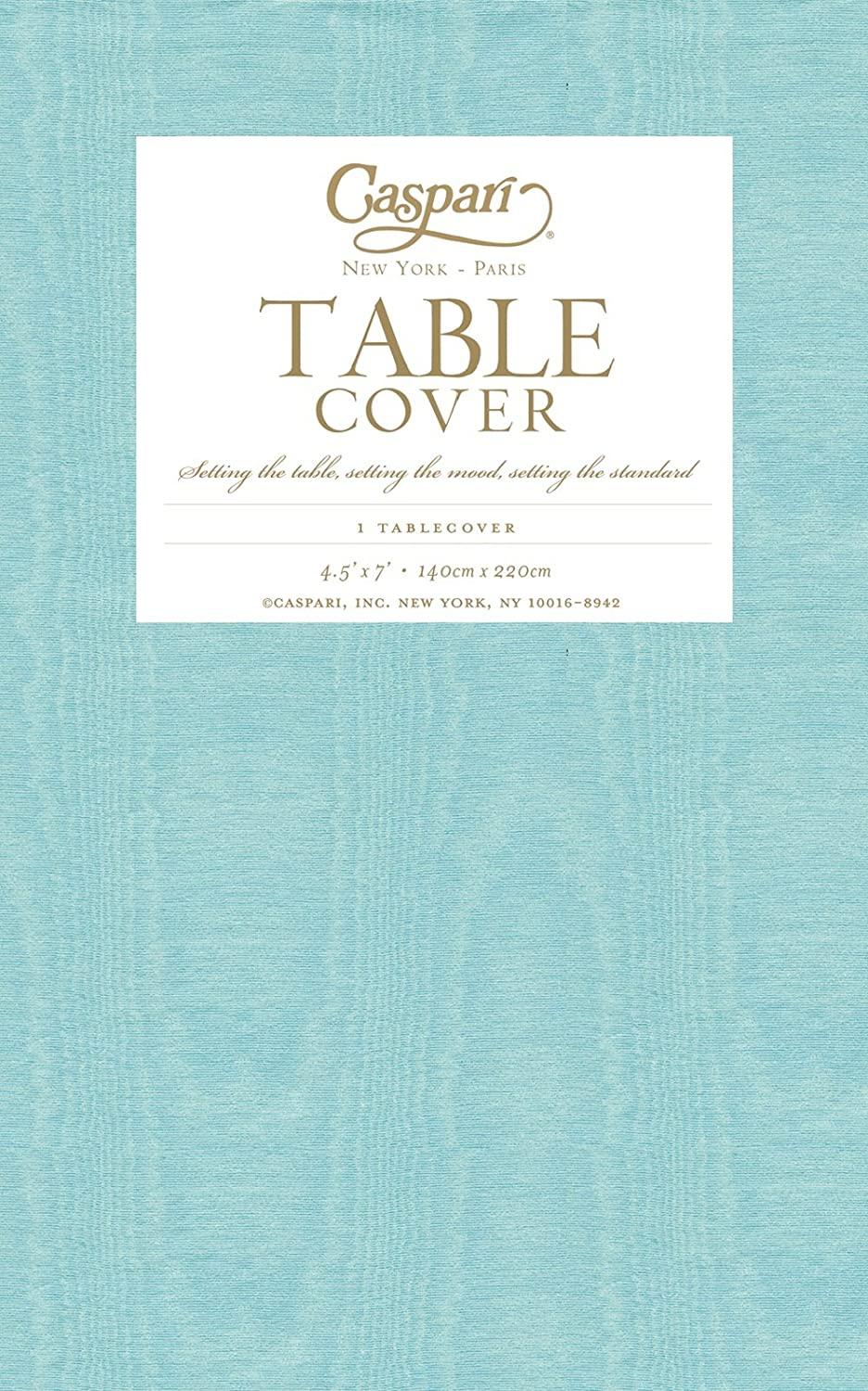 Merveilleux Amazon.com: Entertaining With Caspari Moire Printed Paper Table Cover, 54  By 84 Inch, Lavender Blue: Kitchen U0026 Dining