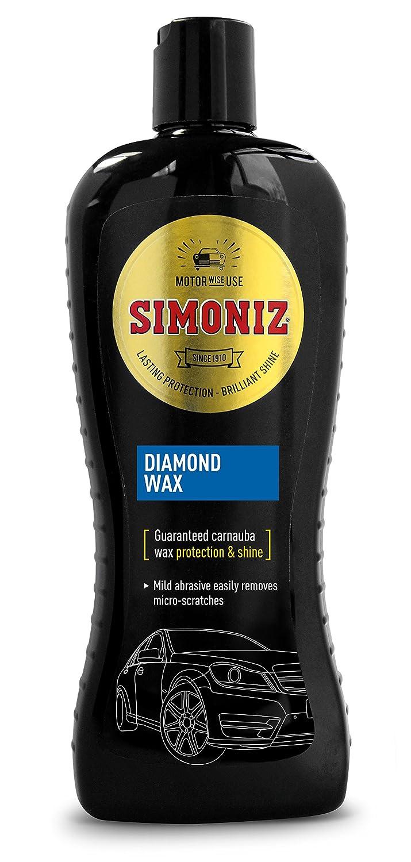 Simoniz Diamond Wax SAPP0071A Produit nettoyant pour peinture de voiture 500ml