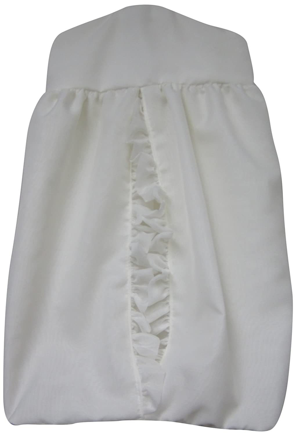 Layered Crib Diaper Stacker in White Baby Doll 9750ds