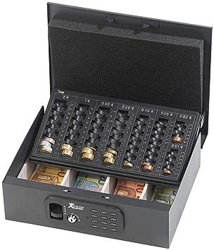 Bevorzugt Xcase Kassen: Geldkassette mit Münz-Zähleinsatz und elektronischem SB86