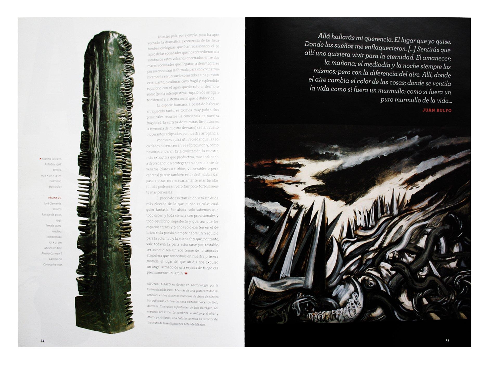 Arte y cambio climatico (Art and Climate Change), Artes de Mexico # 99 (Bilingual edition: Spanish/English) (Spanish Edition): Jose Emilio Pacheco, ...