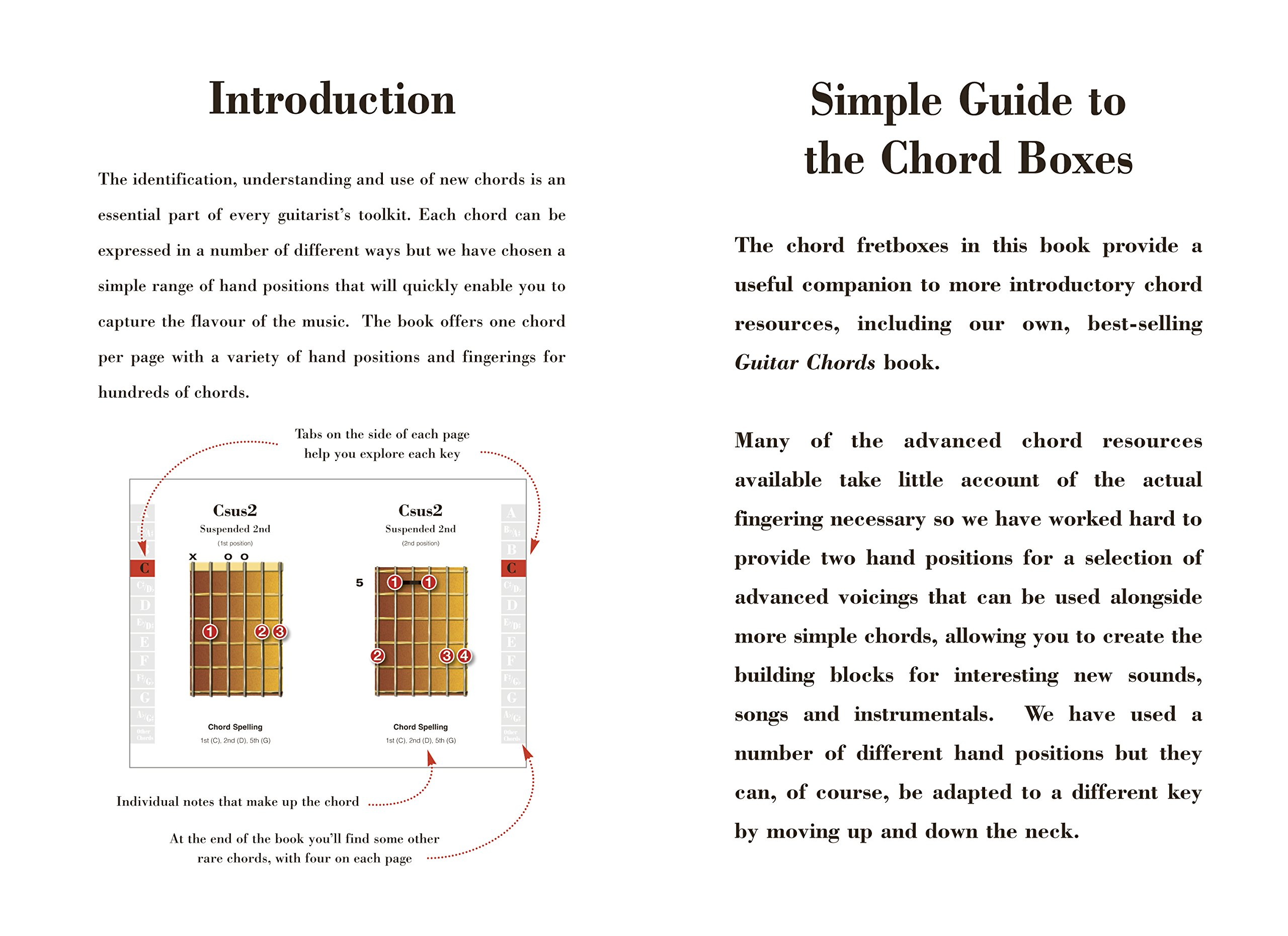 Advanced Guitar Chords Easy To Use Easy To Carry One Chord On