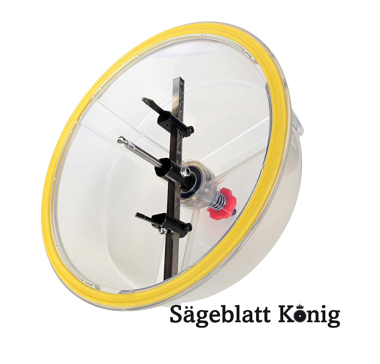 Kreisschneider 48-305 mm/verstellbare Lochsäge - Trockenbau ...