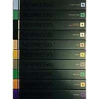 Nespresso - Lot de 100 capsules originales - Références mixtes