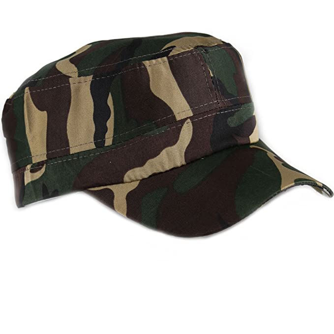 4sold Gorra de béisbol, ejército, Pesca, Estilo Militar (Dark ...