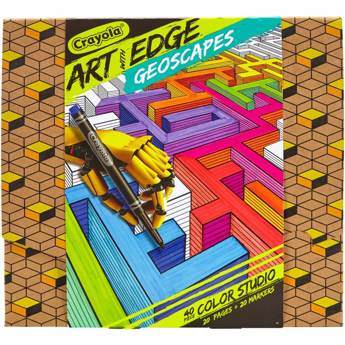 Crayola Edge Bundle (plus Pencil Locker)