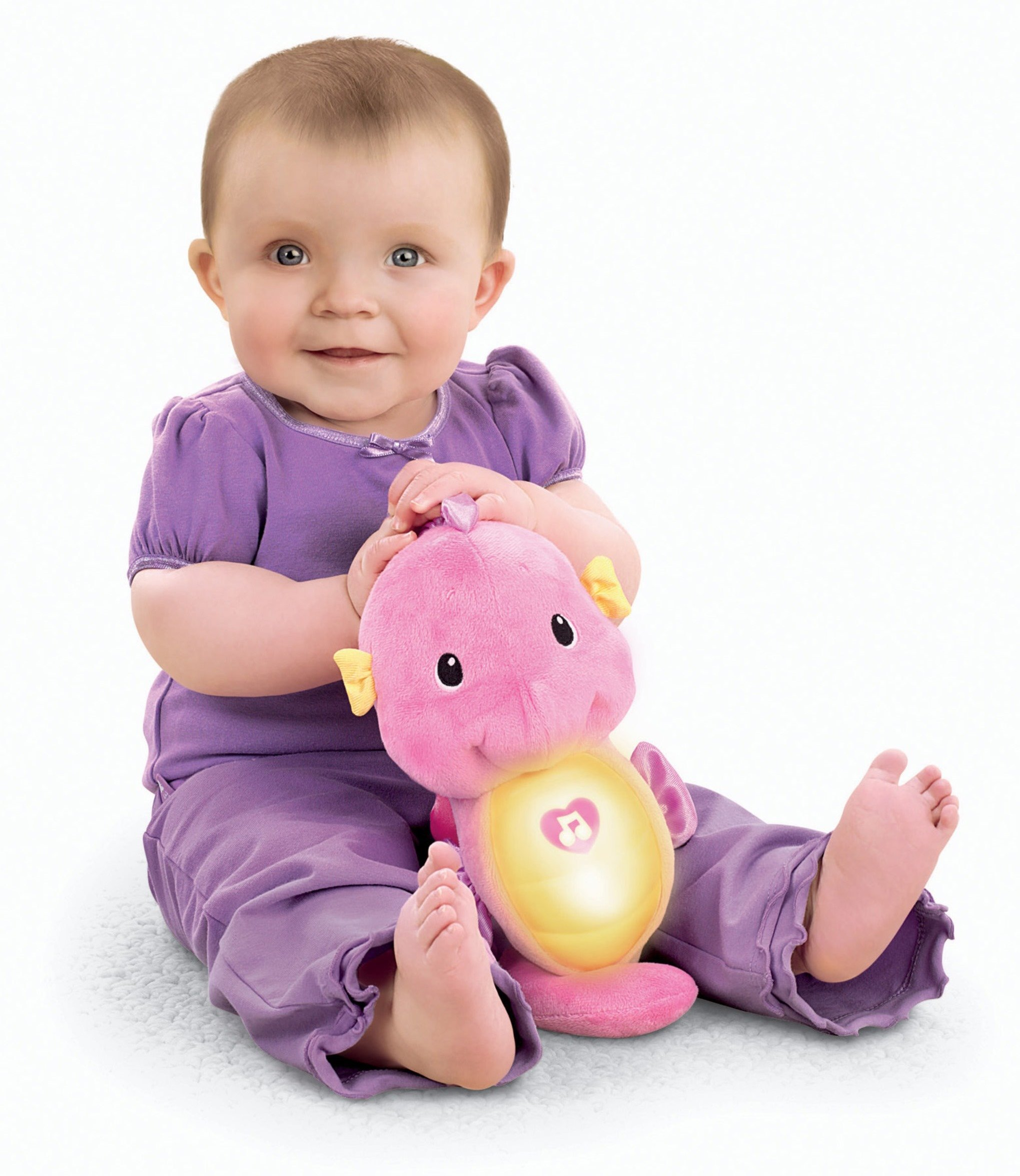 Fisher-Price Soothe & Glow Seahorse, Pink by Fisher-Price (Image #2)