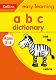ABC Dictionary Ages 3-4 (Collins Easy Learning Preschool)