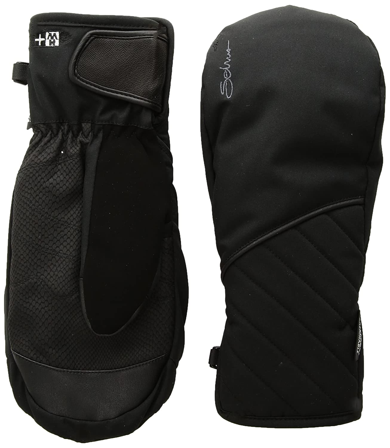 Black Medium Seirus Innovation St Heatwave Plus Vanish Mitt