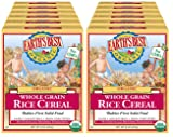 Earth's Best Organic Infant Cereal, Whole Grain