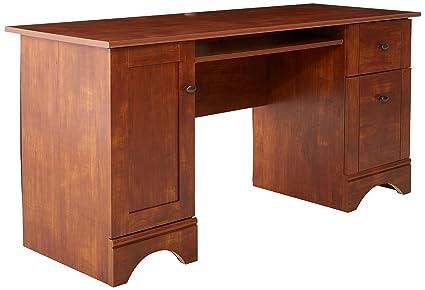 Amazon Com Sauder 402375 Computer Desk L 59 45 X W 23 47 X H