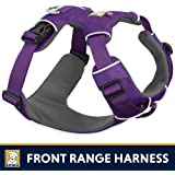 RUFFFWEAR Ruffwear - Front Range No-Pull Dog Harness with Front Clip, Tillandsia Purple (2017), X-Small