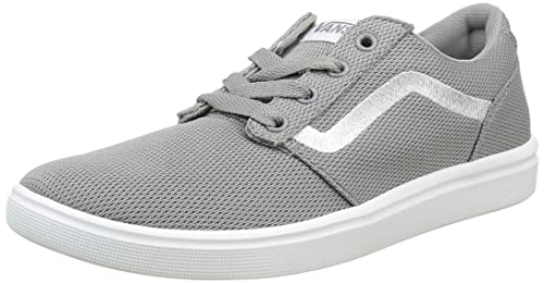 0ed113c97f8 Vans Men s Chapman Lite Lace-Up Sneakers Grey ((Mesh) light gray white) 10  UK  Buy Online at Low Prices in India - Amazon.in