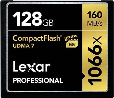 Amazon.com: Lexar tarjeta de video CompactFlash, profesional ...