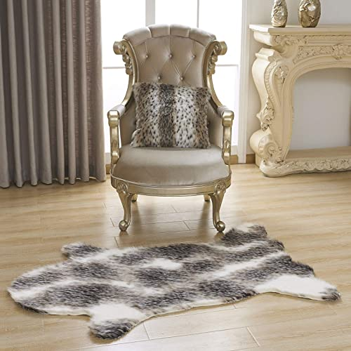 Lindsey Home Fashion Faux Fur Sheepskin,Fur Chair Couch Cover