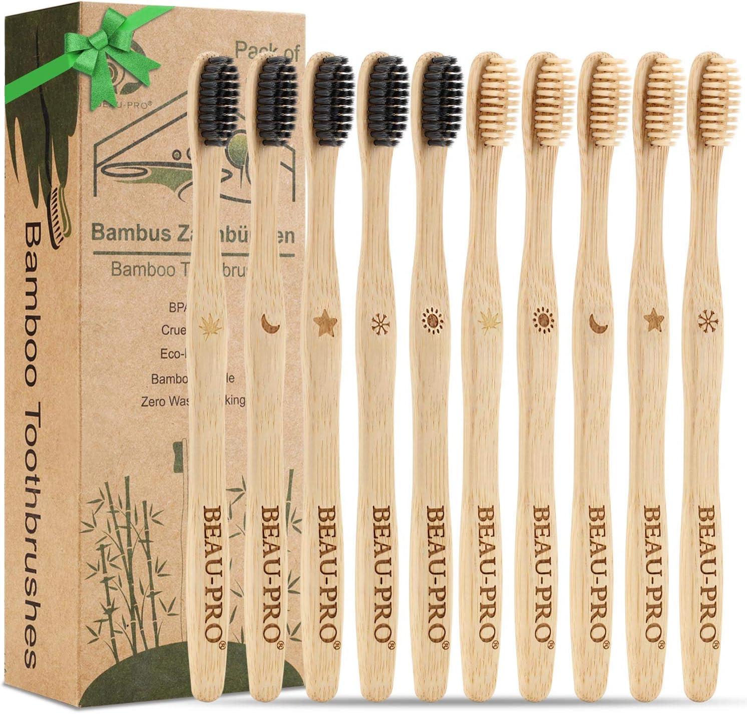 Naturbambus Zahnbürstenrohr Zahnbürstenhalter Zahnbürstenetui Bambusrohr.PF
