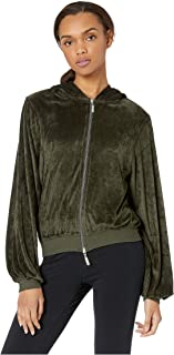product image for Hard Tail Women's Balloon Sleeve Zip Hoodie