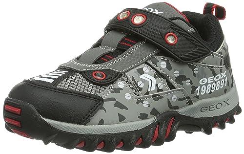 BambinoGrigiogrey Sneaker A New Canyon Collo Basso Lt Geox Jr 4AjR5L