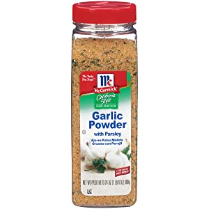 McCormick California Style Garlic Powder With Parsley Coarse Grind Blend, 24 Ounce